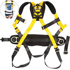 Vevor Safety Harness Construction Harness Full Body With3 D Ring Fall Protection