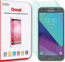 3X Dooqi Premium Tempered Glass Screen Protector for Samsung Galaxy J3 Luna Pro