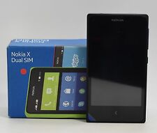 "USED - Nokia X A110 Black (FACTORY UNLOCKED) 4GB , 4.0"" , 3.15MP , Dual Sim"