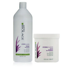 Matrix Biolage Hydrasource Shampoo 1000ml Conditioner 1094ml / Capelli secchi