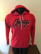 Homage Chicago Red Throwback Hoodie Hooded Sweatshirt Mens Large Bulls