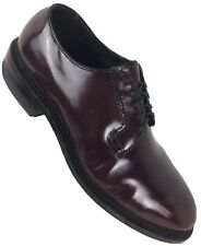 Bostonian Mens 8.5 Safety Shoes Steel Toe Ox Blood Patent Leather New(other)