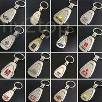 3D Metal Car Logo Metal Titanium Key Chain Car Key Ring Keyfob Keyrings Gifts UK