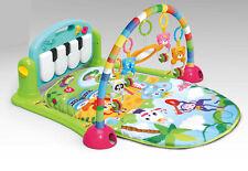 Krabbeldecke mit Spielbogen Erlebnisdecke Spieldecke Baby Spielmatte Musik Gym