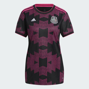 Women's adidas Mexico Official 2021 2022 Home Soccer Jersey