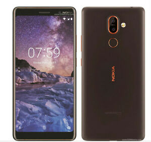 Nokia 7 Plus 6.0inch SmartPhone In Black Unlocked Dual Sim Fully Unlocked