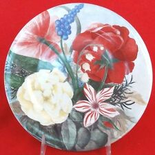 "VOLUPTE by Gien Salad Plate 8.5"" diameter NEW NEVER USED French Porcelain"