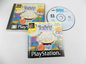 Mint Disc Playstation 1 Ps1 Rugrats Search For Reptar - Free Postage