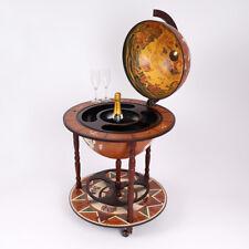 Large Globe Shaped Drinks Cabinet Mini Bar Trolley Vintage Retro Alcohol Booze