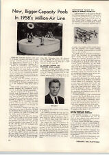 1958 PAPER AD Revell Airplane Model Richthogen's Fokker Tri Plane Article