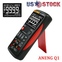 ANENG Q1 True-RMS Digital Multimeter Button 9999 Counts With Analog Bar Graph US