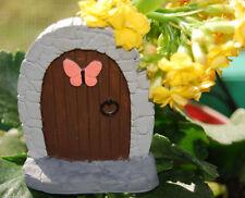 Miniature Butterfly Fairy Garden Door - Tooth Fairy - Mini Magical Decoration