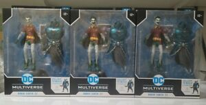 McFarlane Toys DC Multiverse Robin Earth-22 Dark Nights Metal Merciless BAF Set