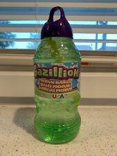 Gazillion Premium BUBBLES Solution 2 Liter Bottle Bubble Wand Outdoor NEW