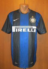 INTER MILAN 2012/2013 HOME FOOTBALL SHIRT MAGLIA SOCCER JERSEY ITALY CALCIO (L)