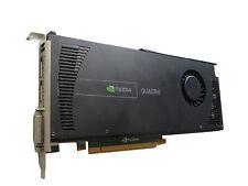 Scheda grafica ws095aa cn-0731y3-56189 NVIDIA quadro 4000 2gb PCIe Black Edition