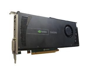 Grafikkarte WS095AA CN-0731Y3-56189 Nvidia Quadro 4000 2GB PCIe black edition