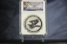 2014P AUSTRALIAN WEDGE-TAIL EAGLE EARLY RELEASE, MS69, NGC, REVERSE PROOF