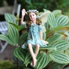Fairy Figurine Garden Miniature Hanging Legs Fairies Ornaments Resin Accessories