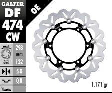 DISQUE DE FREIN GALFER Wave Flottant df474cw 298 x 5 mm SET 2x avant moto