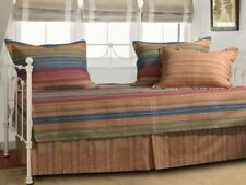 Daybed Bedding Sets Cover Pillow Shams Ruffle Comforter Cotton Reversible 5 Pcs