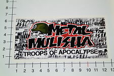 METAL Mulisha troops of Apocalypse autocollant sticker Motorcross Bike skate mi328