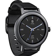 NEW SEALED LG Watch Style W270 45.7mm Titanium Stainless Steel Black Titanium