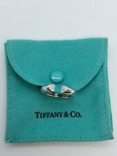 Tiffany & Co. 18K Gold & Diamond Paloma Picasso Tenderness Heart Ring - Size 6