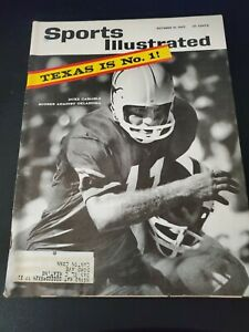 Sports Illustrated Oct 21, 1963 Texas (Longhorns) is No 1!