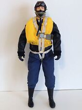 "1/4.5 ~ 1/4 Scale 15"" Tall WWII German Luftwaffe RC Pilot Figure"