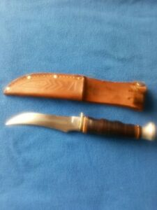 Vintage KABAR 1233 USA Knife w/Sheath