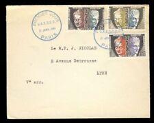 Carnets et timbres de service français enveloppes
