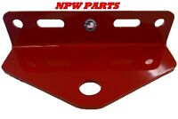 "2017 Exmark Zero Turn Mower Trailer Hitch 5"" Outside Holes Centers--red"