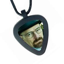 Breaking Bad Walter White Heisenberg Pickbandz Real Guitar Pick Necklace