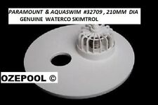 PARAMOUNT & AQUASWIM SKIMTROL Vacuum Plate with bypass for auto cleaner #32709