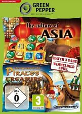 CULTURE OF ASIA + MYSTERY OF PIRATES TREASURE 2in1 NEU