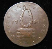 Great Britain, Scotland, Perth 1797 Halfpenny Token-Conder-Scarce!