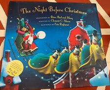 Night Before Christmas Clement Moore Illustrated  Hardcover w/ CD (Peter,Paul,Ma