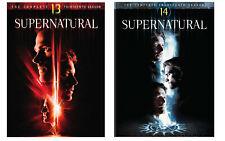 New Sealed Supernatural - The Complete Thirteenth & Fourteenth Season DVD 13 14