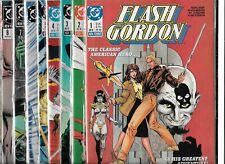 FLASH GORDON #1-#9 SET (NM-) COPPER AGE DC SERIES