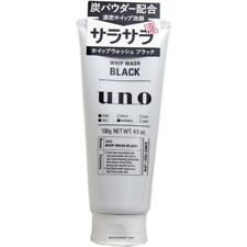 JAPAN SHISEIDO UNO WHIP WASH BLACK FACE CLEANSING(130g)SKIN BEAUTY CARE