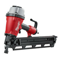 Milwaukee 3-1/2 in. Pneumatic Framing Nailer 7200-80 Certified Refurbished