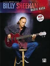 Billy Sheehan: Basic Bass, Book & DVD by Billy Sheehan (Paperback / softback,...