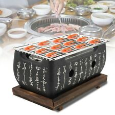 Japanese Korean Ceramic BBQ Table Grill Chicken Barbecue Charcoal Grill Stove