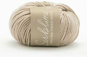 Sirdar Sublime Extra Fine Merino DK Yarn 100% Merino Wool   OUR PRICE £4.55