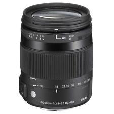 Sigma DC Zoom Lenses for Nikon Cameras