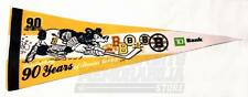 Boston Bruins Celebrating 90 Years of Bruins Hockey Felt Pennant