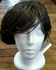 NEW Lord & Cliff WIG T2/12 Braided Brown 100% Kanekalon Short Brandy Braids NIB