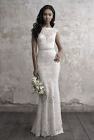 ++ c071New Mermaid Gown Bridal lace Wedding Dress Custom Size2 4 6 8 10 12 14