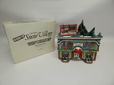 Snow Village Dept 56 Hersheys Chocolate shop 1997 #54913 Very Rare Christmas